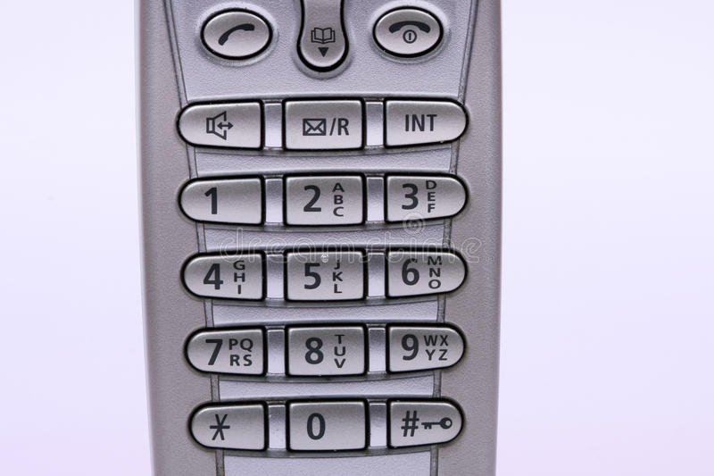 Draadloze telefoon stock foto's
