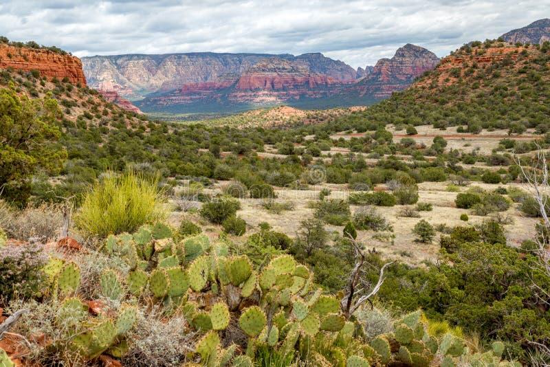Draag Bergsleep Sedona Arizona royalty-vrije stock foto