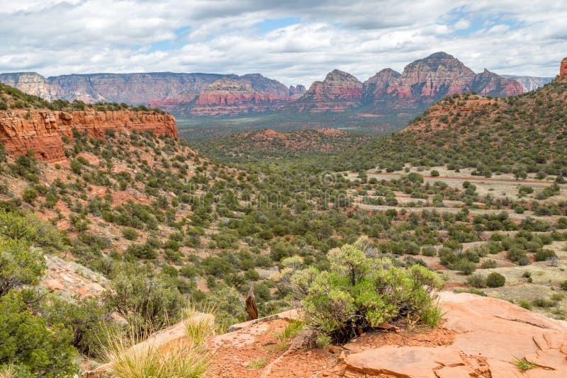 Draag Bergsleep Sedona Arizona stock afbeeldingen