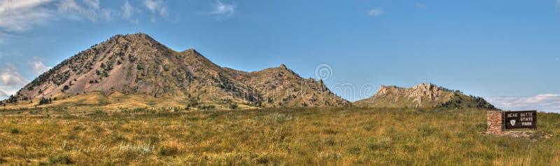 Draag Butte is een Park van de Staat in Landelijk Westelijk Zuid-Dakota stock afbeeldingen
