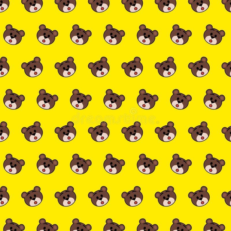 Draag - emojipatroon 32 stock illustratie
