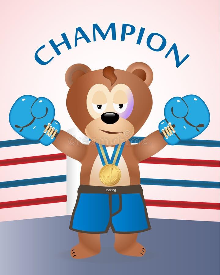 Draag - kampioen royalty-vrije illustratie