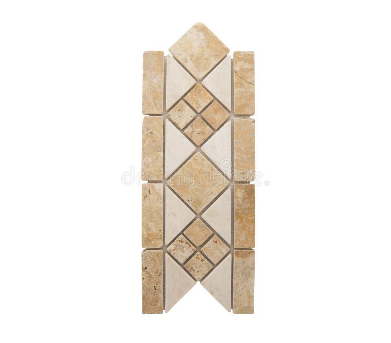 Draag keramische tegels royalty-vrije stock foto's