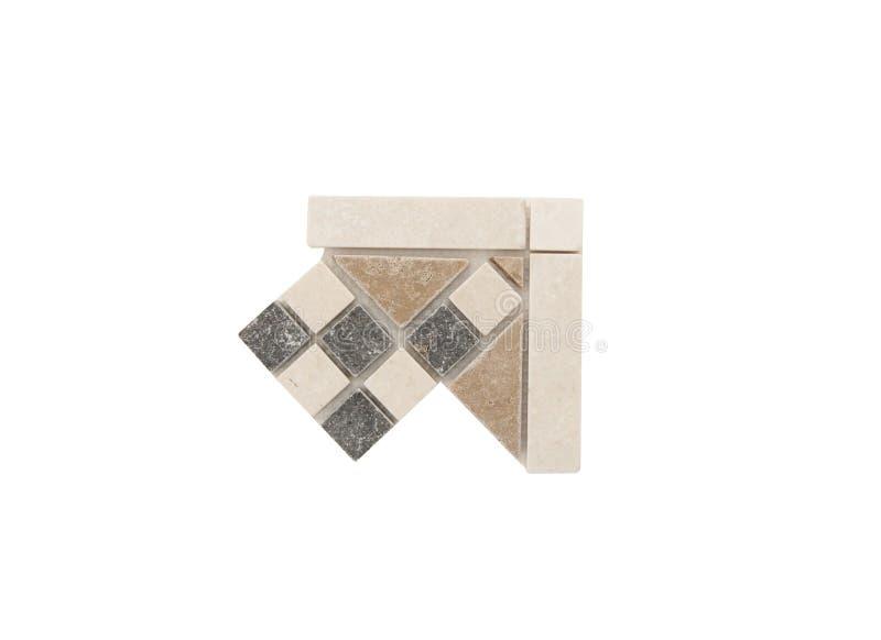 Draag keramische tegels royalty-vrije stock foto