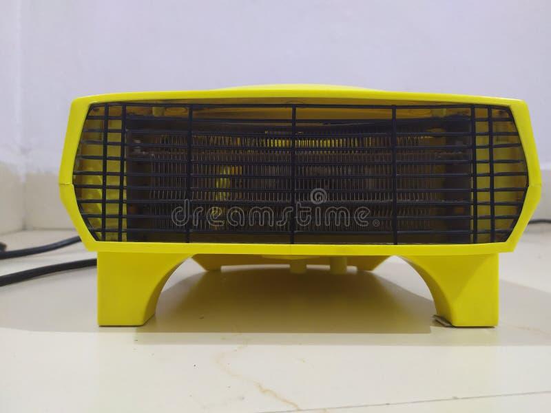 Draagbaar ventilatorverwarmingstoestel royalty-vrije stock afbeelding