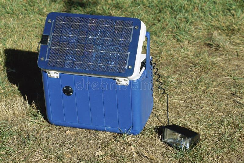 Draagbaar zonnemachtspak stock foto