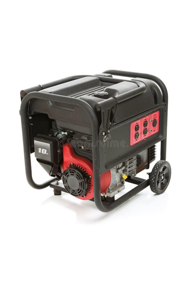 Draagbare Elektrische Generator stock afbeeldingen