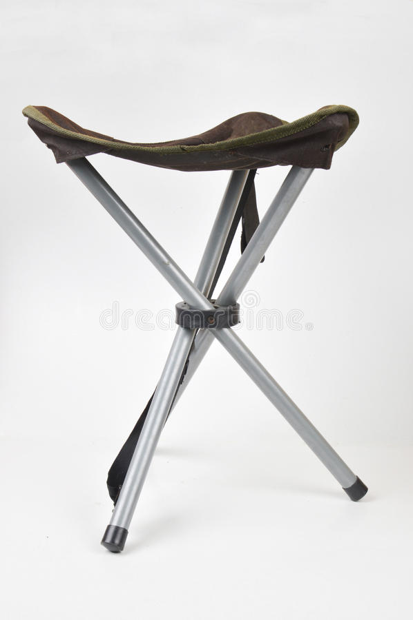 Draagbare stoelen royalty-vrije stock afbeelding