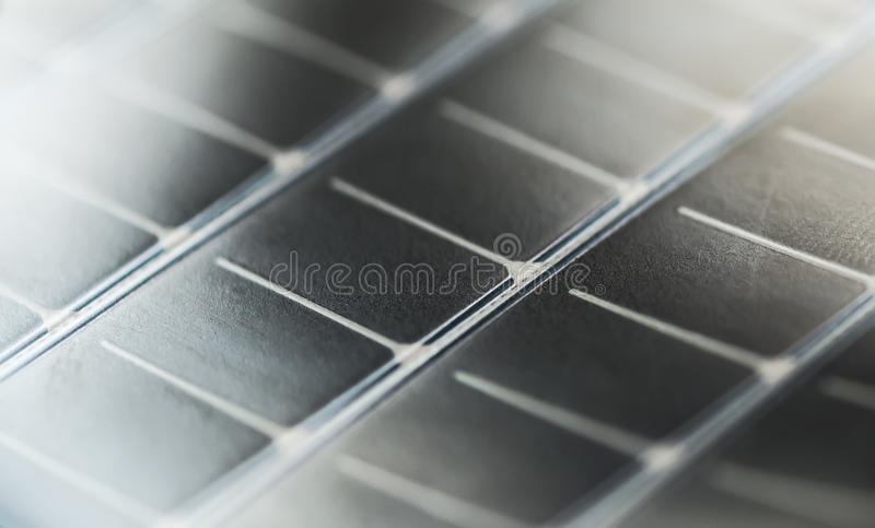 Draagbare zonnepaneeltextuur royalty-vrije stock fotografie