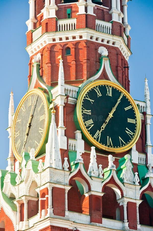 Draai Moskou het Kremlin stock afbeeldingen