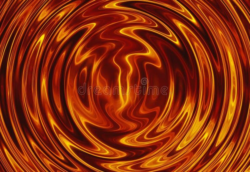 Draai van heldere explosieflits branduitbarsting vector illustratie