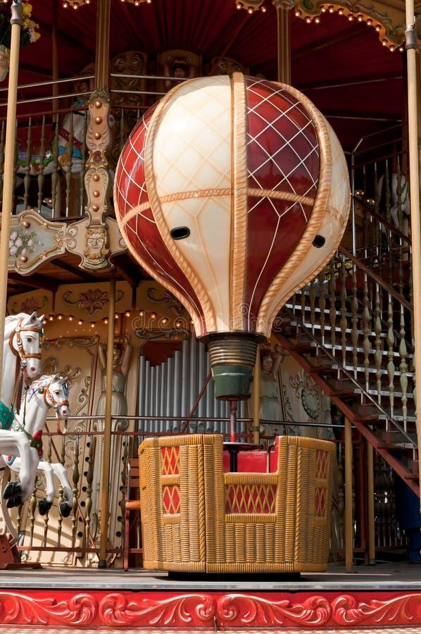 Draaien van een de Heldere Ballon op de Carrousel royalty-vrije stock foto