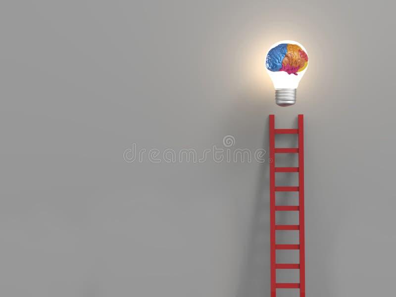 drabinowy pojęcie sukces ilustracji