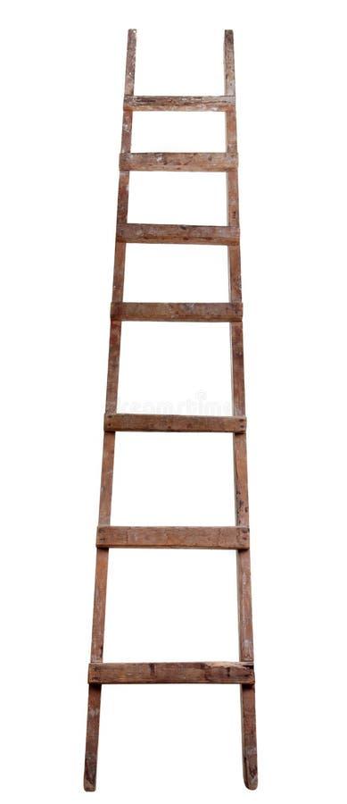 drabinowy stary drewniany zdjęcie royalty free