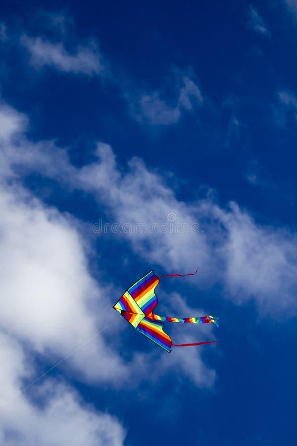 Drachen auf dem Himmel lizenzfreie stockbilder