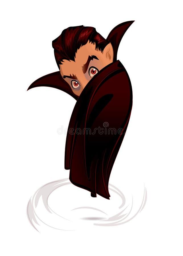 Dracula stock illustrationer
