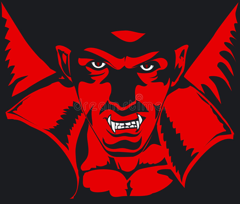 dracula vektor illustrationer