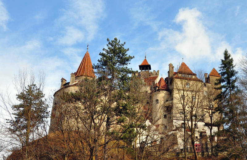 Dracula bran castle royalty free stock photos