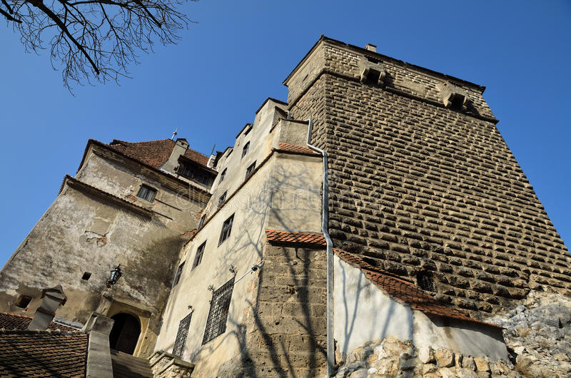 Dracula Castle royalty free stock photography
