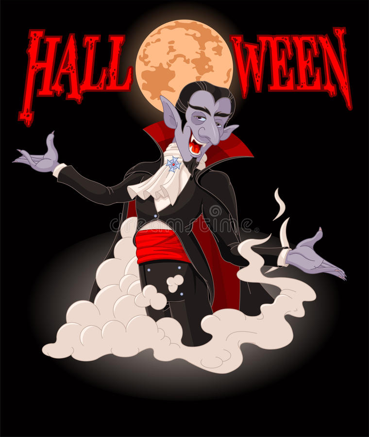dracula halloween stock illustrationer