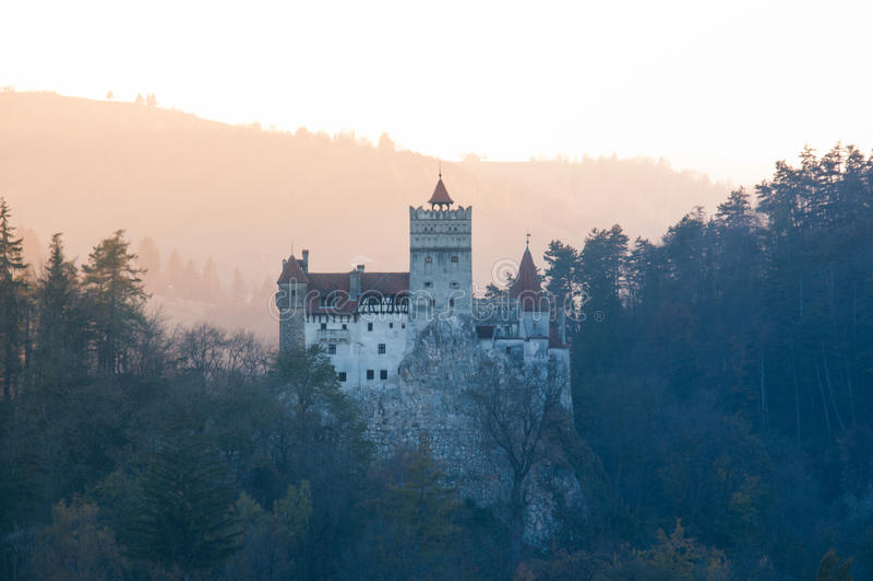 Dracula kasztel obrazy royalty free