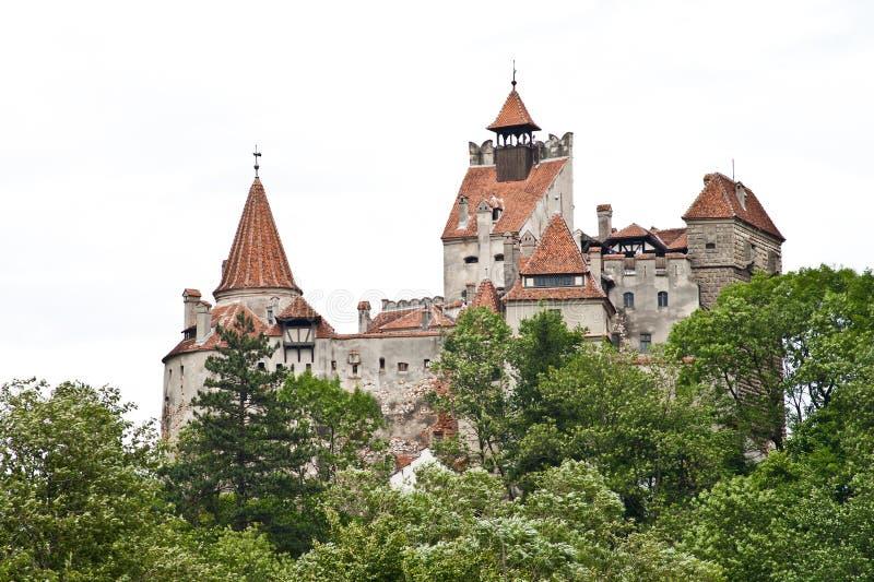 Dracula kasztel od Transylvania zdjęcie royalty free