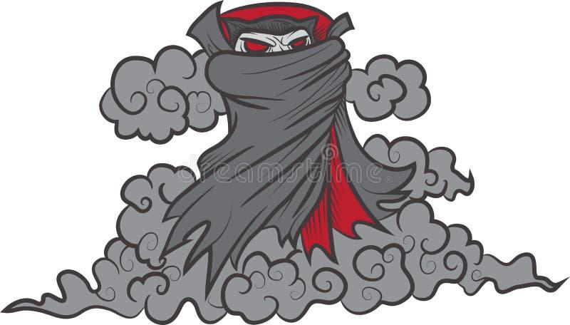 Dracula-Rauch stock abbildung