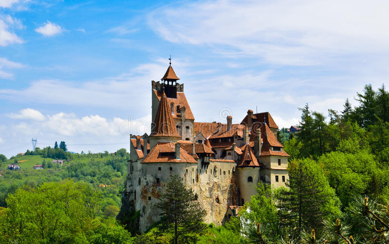 Dracula`s castle royalty free stock images