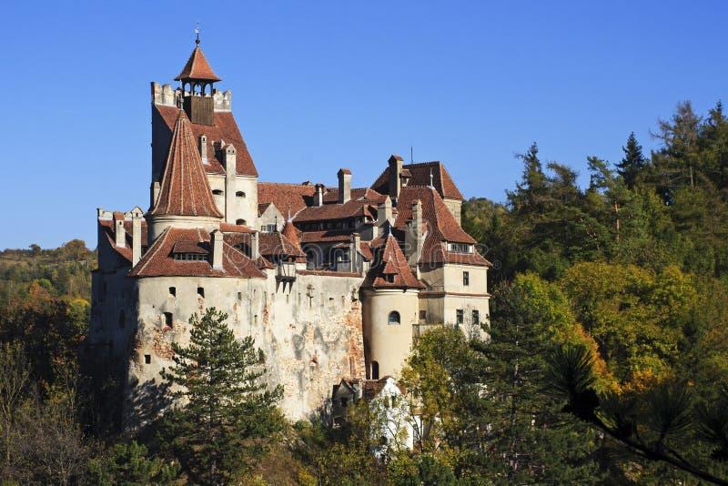 Dracula` s kasteel in Transsylvanië royalty-vrije stock fotografie