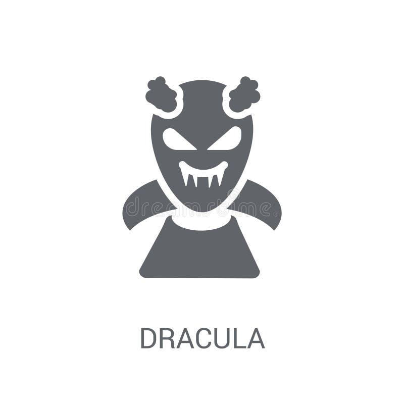 Draculapictogram  royalty-vrije illustratie