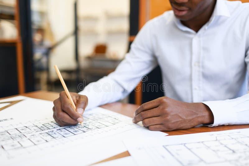 drafting royalty-vrije stock afbeelding