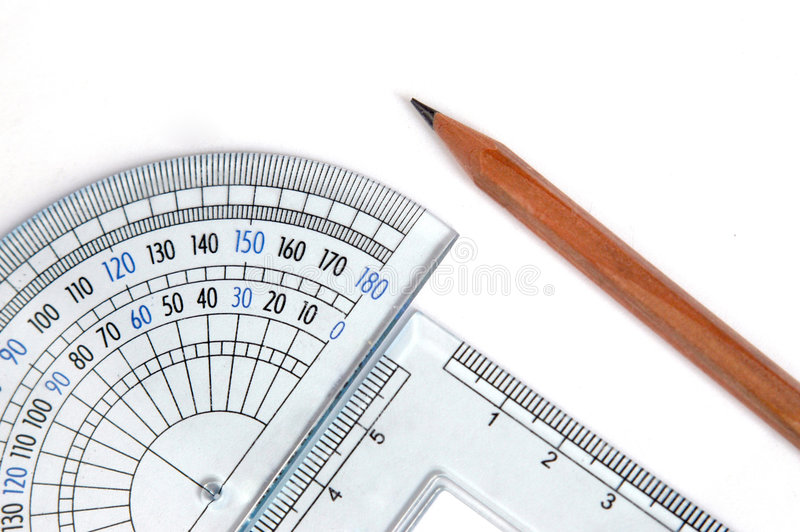 Drafting tools royalty free stock images