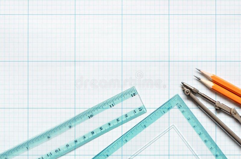 Draftsmanship royalty free stock images