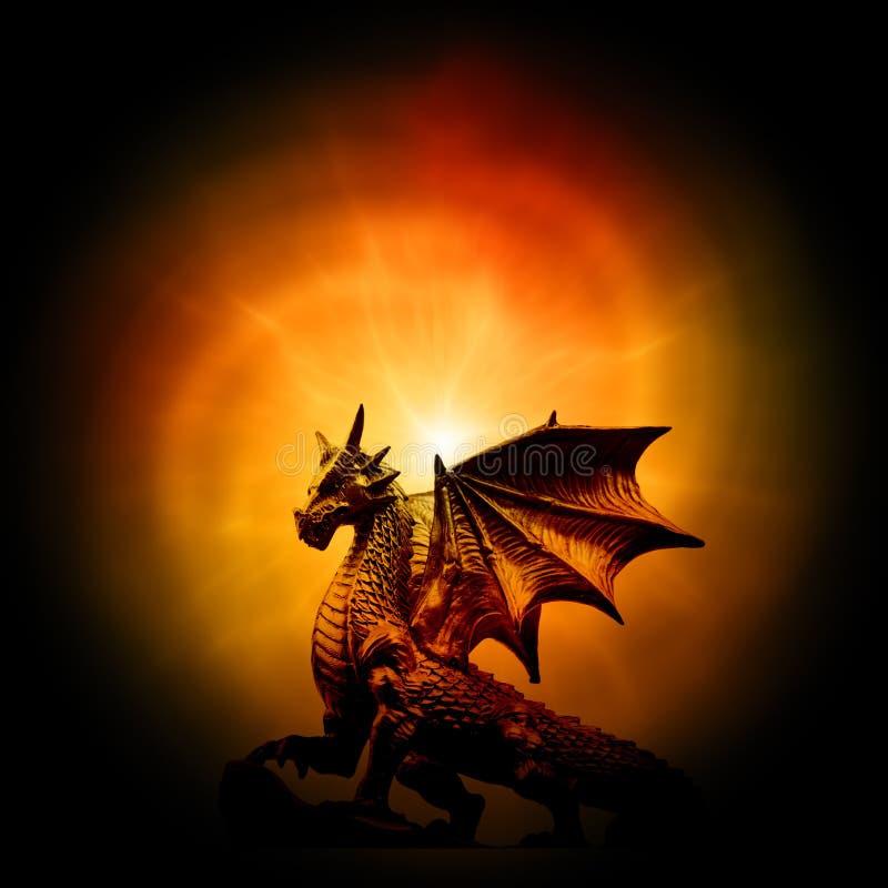 Dragão ilustração do vetor