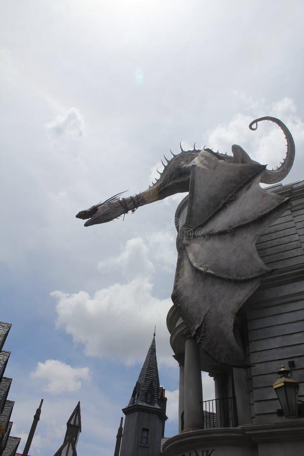 Dragão imagem de stock