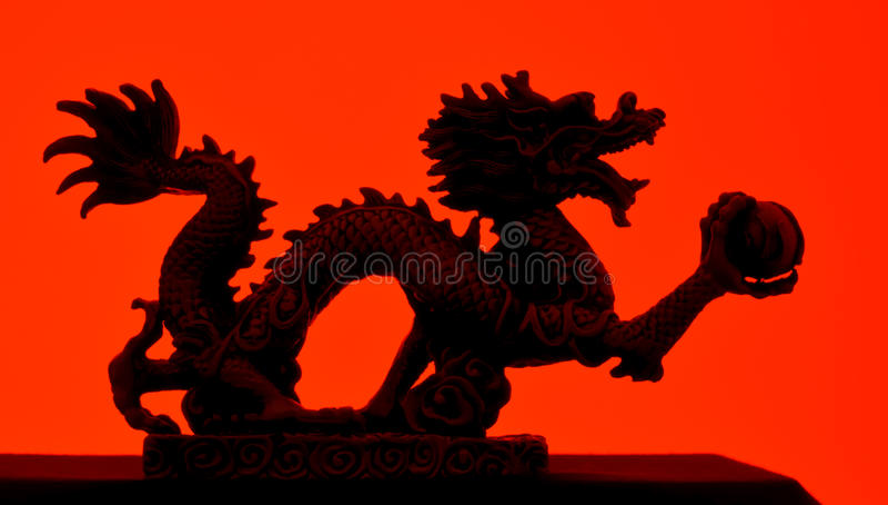 Dragão fotografia de stock royalty free