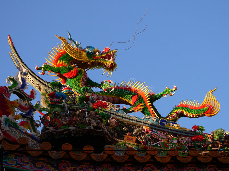 Dragão chinês imagens de stock