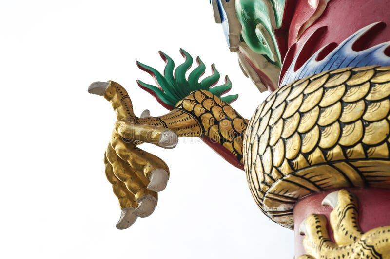 Dragão da garra foto de stock royalty free