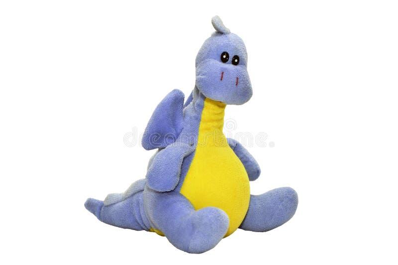 Dragão do brinquedo isolado fotos de stock royalty free