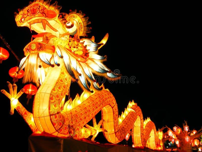 Dragão do estilo chinês fotos de stock royalty free