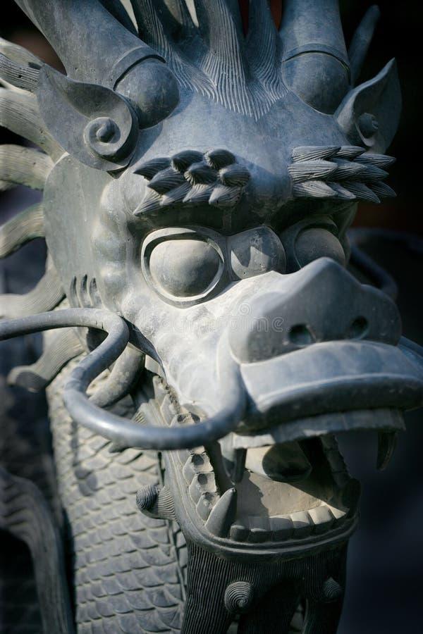 Dragão proibido imagens de stock
