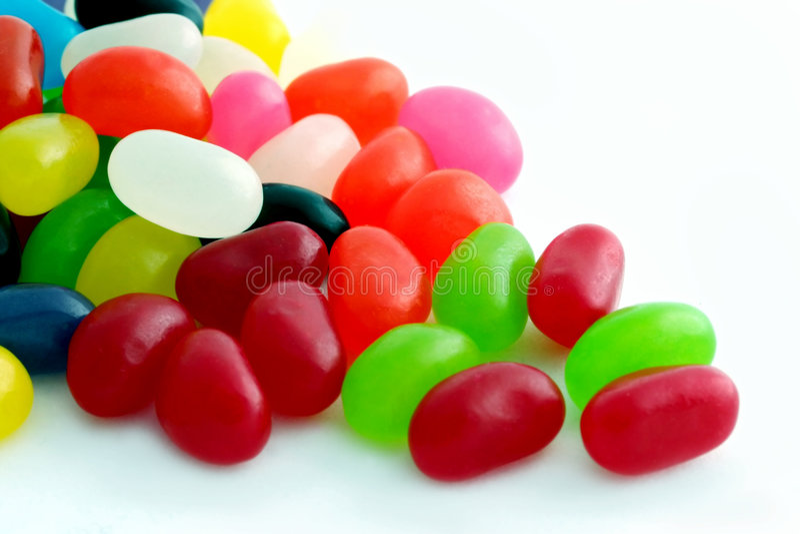 Dragées à la gelée de sucre images libres de droits