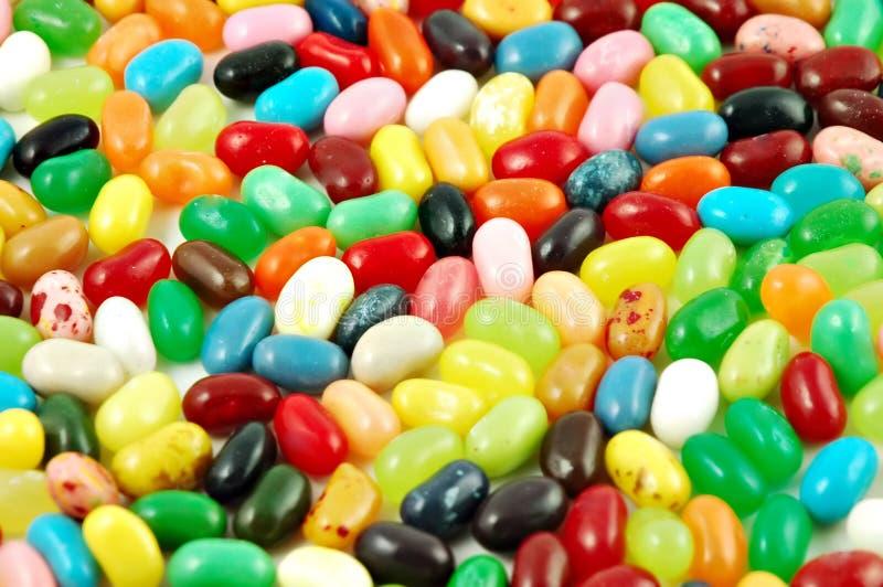 Dragées à la gelée de sucre images stock