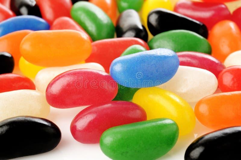 Dragées à la gelée de sucre de couleur image libre de droits