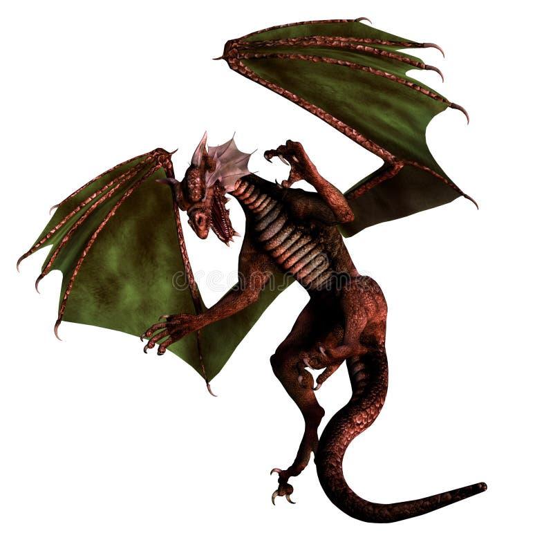 Dragón ilustración del vector