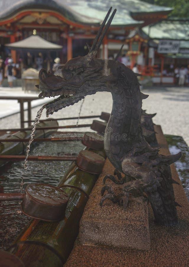 Download Dragón imagen de archivo. Imagen de templo, capilla, shintoism - 44852897