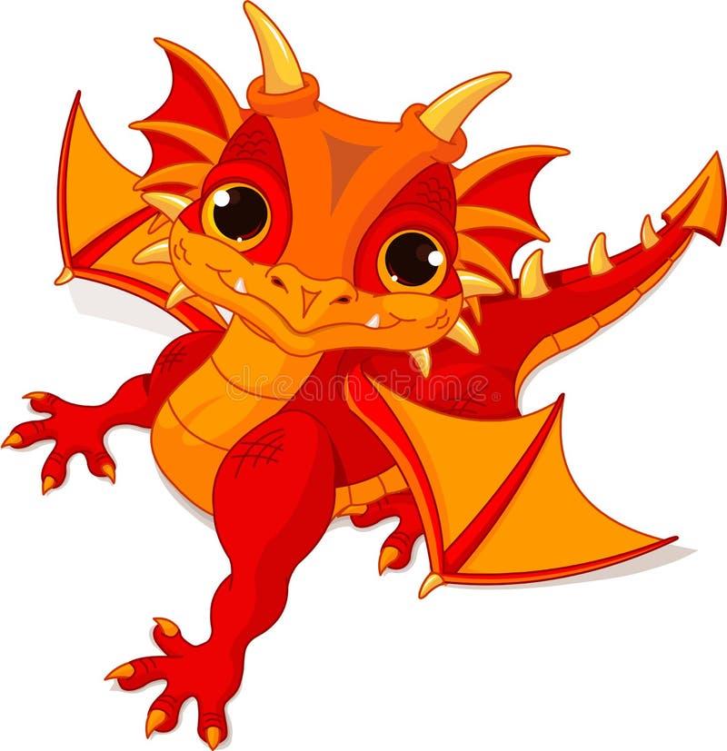 Dragón del bebé libre illustration