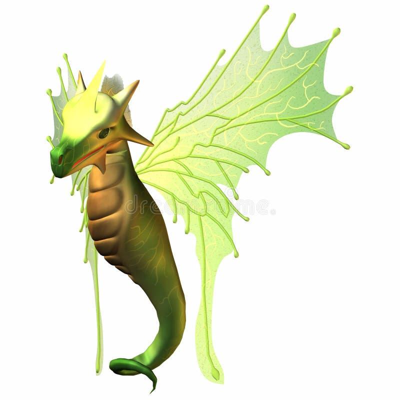 Dragón del Faerie de la fantasía libre illustration