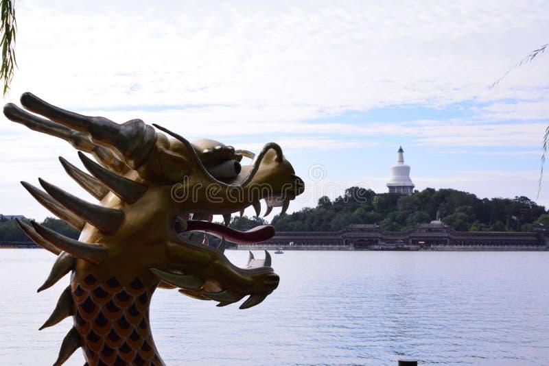 Dragón en China fotografía de archivo