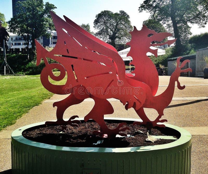 Dragón Galés imagen de archivo libre de regalías